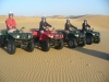 4-Wheelers in the open desert