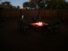 Fire Pit Inside the Boma