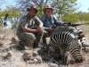 Johann Veldsman & myself with the ever elusive zebra