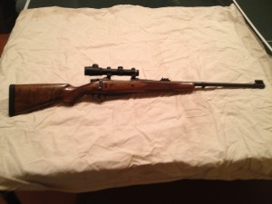 My 416 in a CZ Safari Classic Custom Rifle
