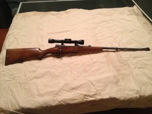 My 9.3x57 Mauser