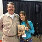 The Extreme Huntress of 2012 Ms. Jacquelyn Gross and yours truly.