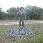 My afternoon's worth of pigeons.