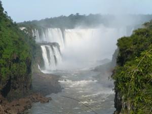"""The """"Devil's Throat"""", Iguazu Water Fall, Argentina."""