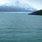 Even when we were still over a mile away the scope of the glacier is impressive.