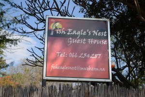 The Fish Eagles Nest was comfortable and accommodating.