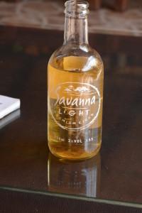 Savanna Light, (SA's hard apple cider) Janice's favorite sundowner.