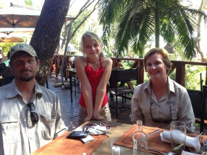 Johann Veldsman, Zoe Veldsman, and Janice Brown