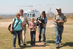 The picture that reminded me of something out of a movie.  (photo courtesy of Zambezi Helicopter Co.)