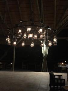 Lianshulu's lantern chandelier