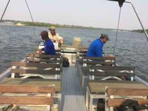Trolling for tigers on the Zambezi River